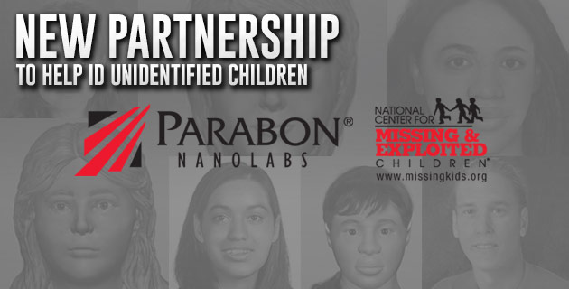 [IMAGE] New Partnership to Help ID Unidentified Children: Parabon NanoLabs & NCMEC