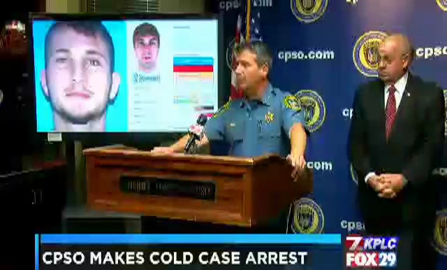 [IMAGE] Calcasieu Parish, LA Sheriff's Office Press Conference