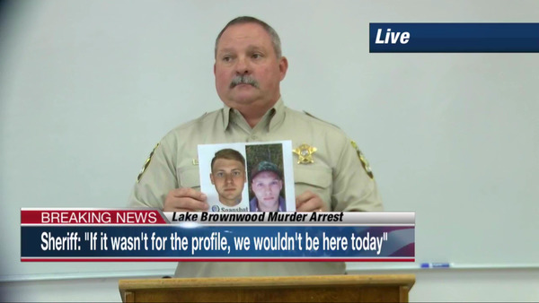 "[IMAGE] Brown County, TX, Sheriff Vance Hill: ""If it wasn't for the profile, we wouldn't be here today"""