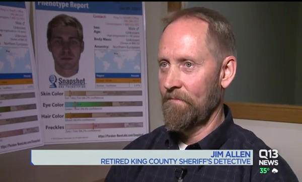 [IMAGE] Jim Allen, Retired King County Sheriff's Detective