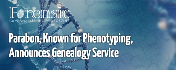 [IMAGE] Forensic Magazine Cover Story: Parabon, Known for Phenotyping, Announces Genealogy Service