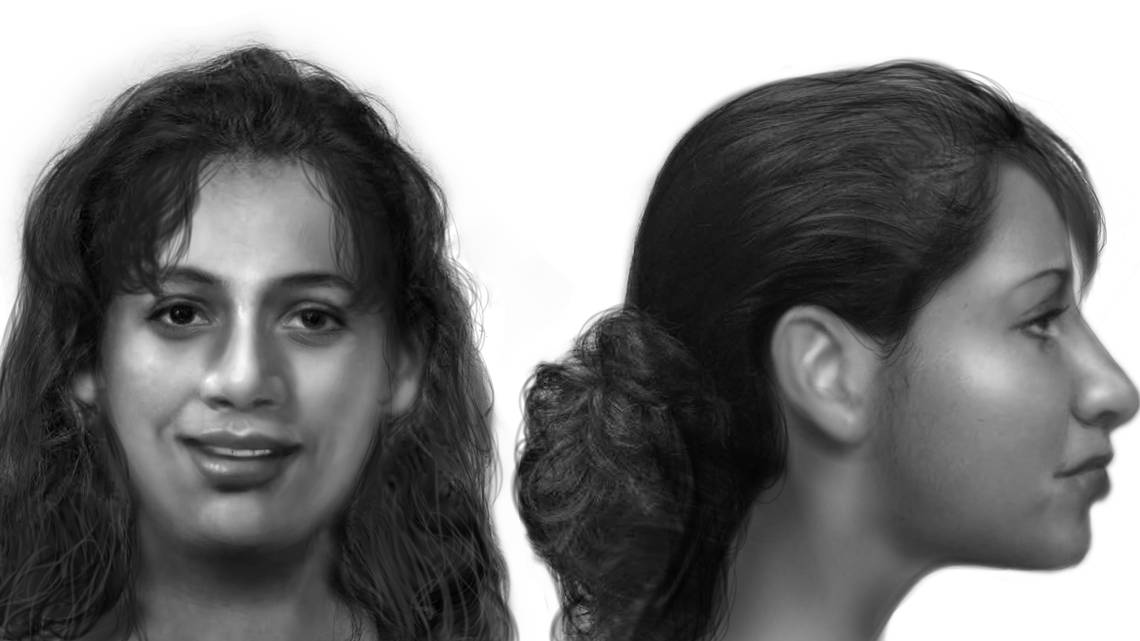[IMAGE] Police Sketch of Fort Worth, TX Jane Doe
