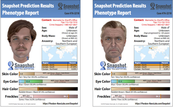 [IMAGE] Snapshot Composites of Marinette County, WI, Person of Interest Aged 25 and 65
