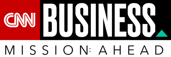 "[IMAGE] ""CNN Business — Mission: Ahead"" Logo"