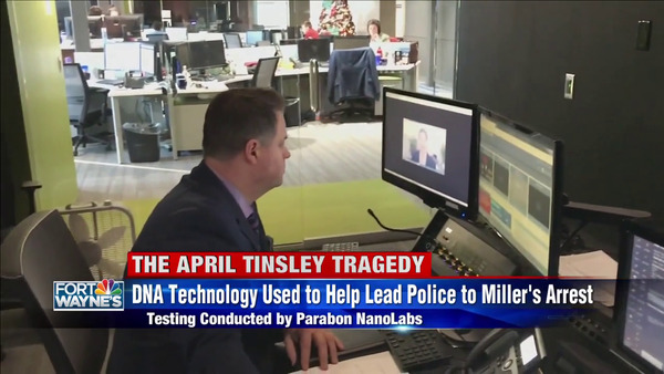 [IMAGE] The April Tinsley Tragedy — DNA Technology Used to Help Lead Police to Miller's Arrest — Testing Conducted by Parabon NanoLabs