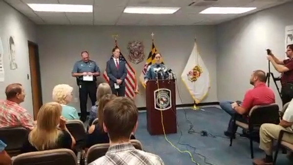 [IMAGE] Anne Arundel County Police Department News Conference