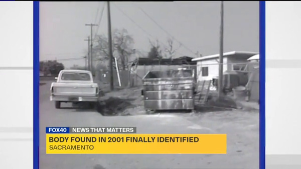 [IMAGE] Sacremento, CA Body Found in 2001 Finally Identified