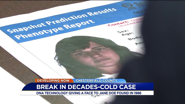 [IMAGE] Break In Decades-Cold Case – DNA Technology Giving A Face To Jane Doe Found In 1986