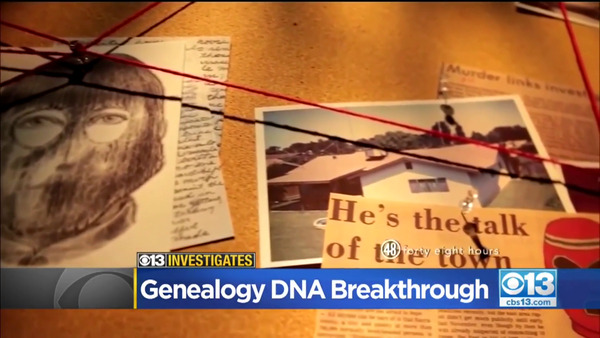 [IMAGE] CBS 13 Investigates: Genealogy DNA Breakthrough