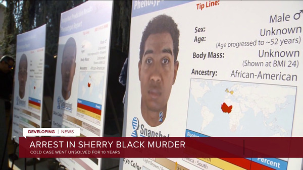 [IMAGE] Arrest in Sherry Black Murder; Cold Case Went Unsolved For 10 Years